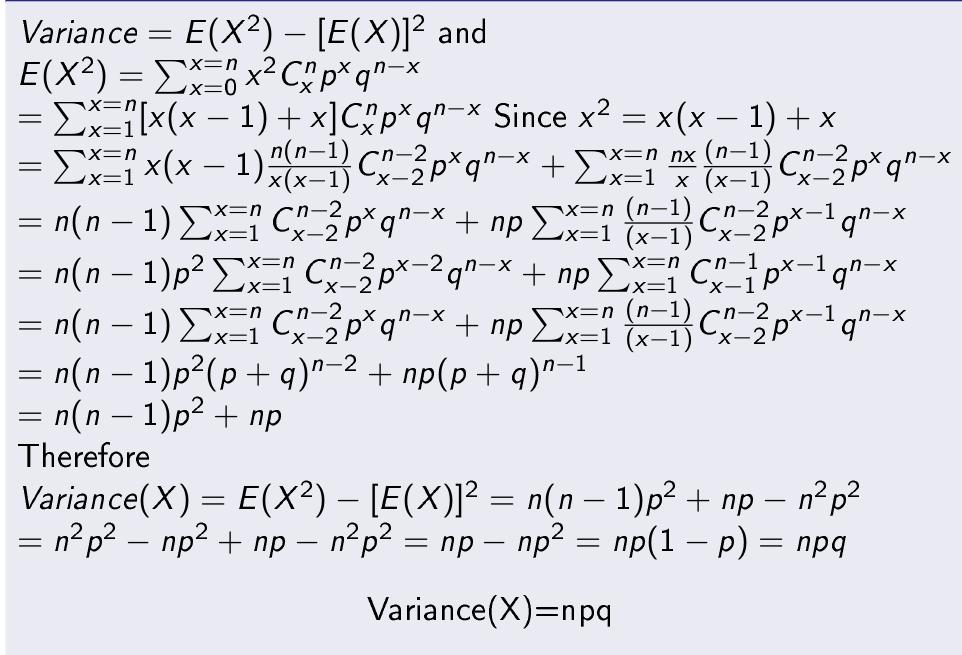 Binomial-Distribution-Variance