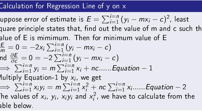 Calculation-for-Regression-Line