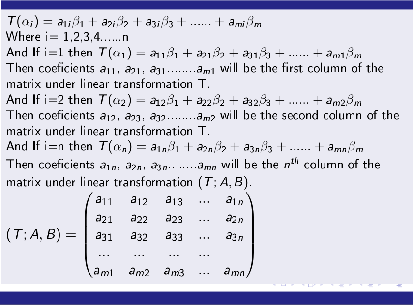 Matrix-of-a-Linear-Transformation