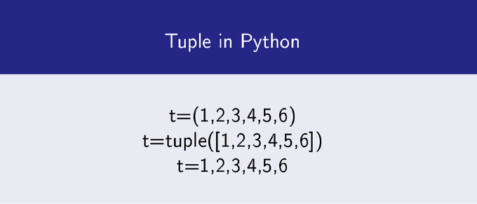 Tuples in Python
