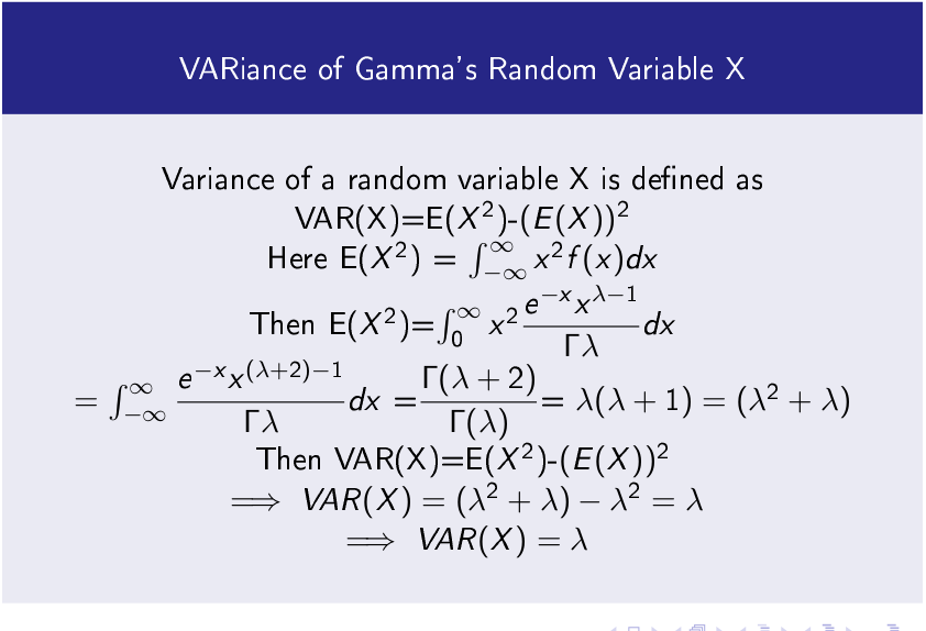 Gamma Function and Gamma Probability Distribution Function